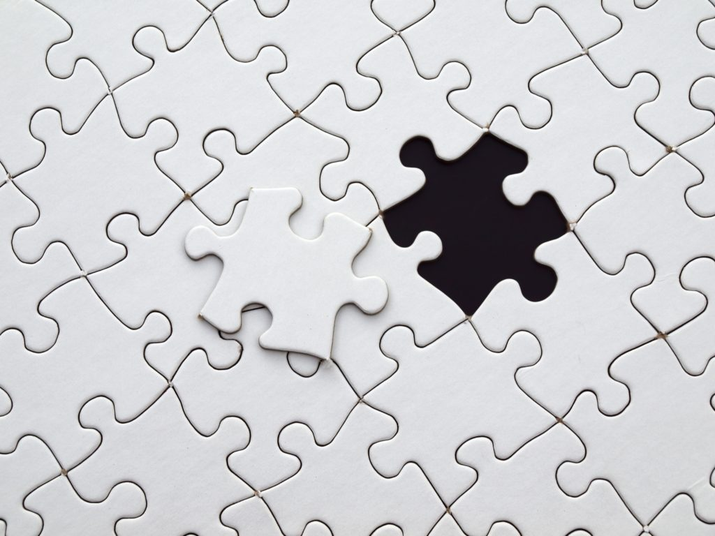 Puzzle piece off your site - Services for companies