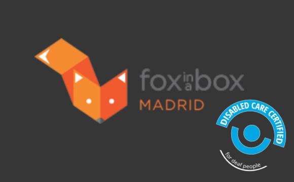 Estrenamos certificado con Fox in a Box Madrid
