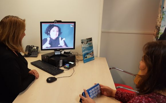 Halcón Viajes accesible para personas sordas